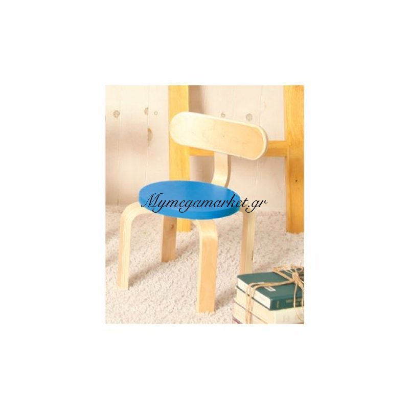 Kid-Fun Παιδική Καρέκλα Σημύδα/μπλε