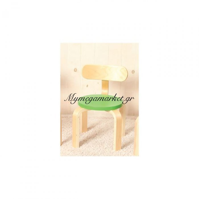 Kid-Fun Παιδική Καρέκλα Σημύδα/πράσινο | Mymegamarket.gr