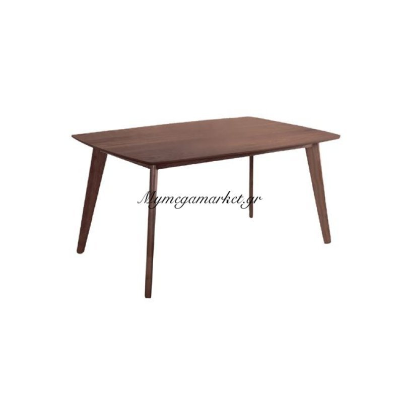 Calvin Τραπέζι 120X80Cm Καρυδί Στην κατηγορία Τραπέζια - Τραπεζαρίες | Mymegamarket.gr