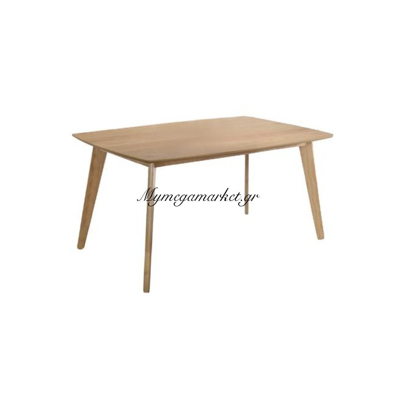 Calvin Τραπέζι 120X80Cm Φυσικό Στην κατηγορία Τραπέζια - Τραπεζαρίες | Mymegamarket.gr
