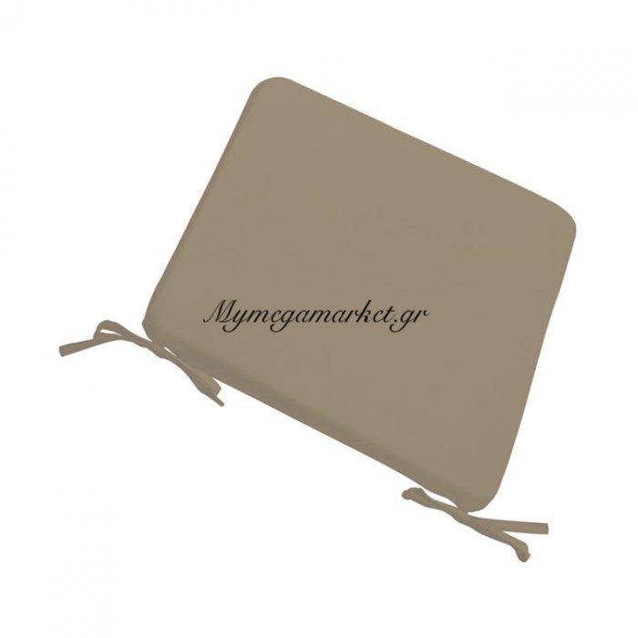 Chair Μαξιλάρι 42X42/3Cm Cappuccino   Mymegamarket.gr
