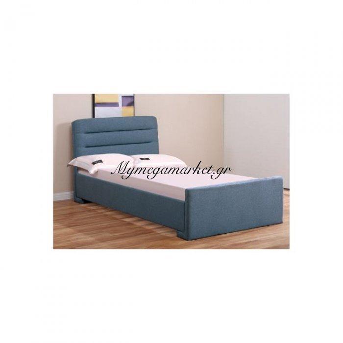 Doral Κρεβάτι 160X200Cm Ύφασμα Μπλε/αποθ.χώρος | Mymegamarket.gr