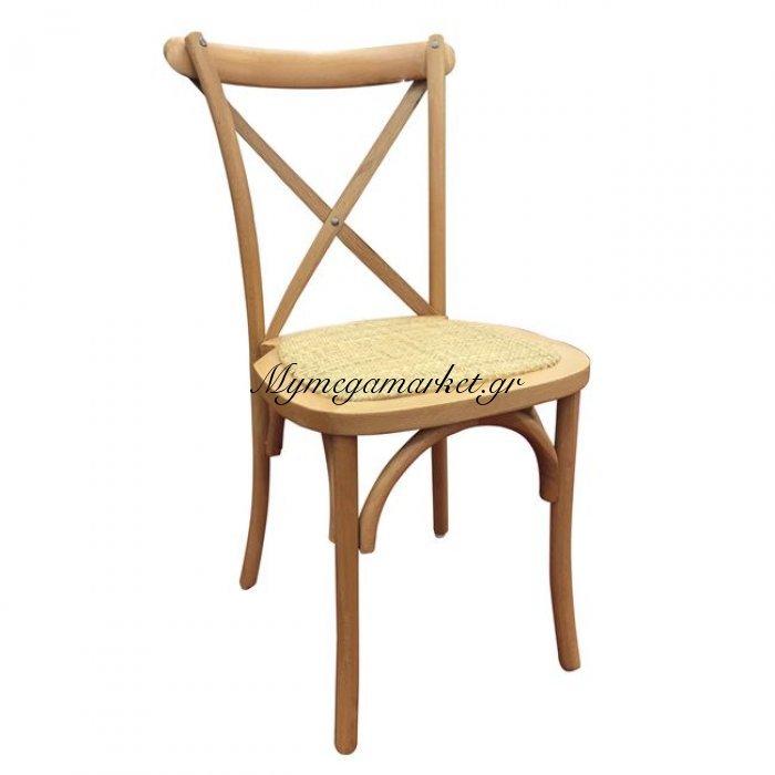 Destiny Καρέκλα Φυσικό, Οξυά | Mymegamarket.gr