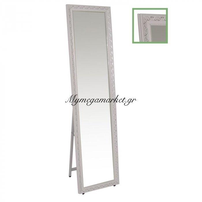 Mirror Καθρέπτης Δαπέδου/τοίχου 37X146 Γύψινος, Antique White | Mymegamarket.gr