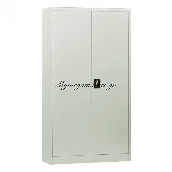 Ντουλαπα Μεταλ.(4 Ράφια) 90X40X185Cm Άσπρο | Mymegamarket.gr