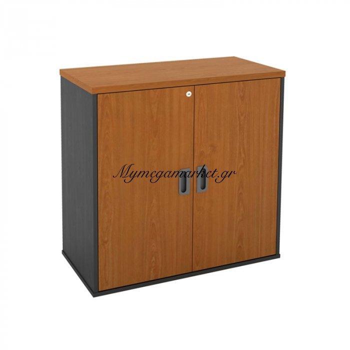 Ντουλάπι-A 80X40X82Cm Γκρι/cherry / New | Mymegamarket.gr