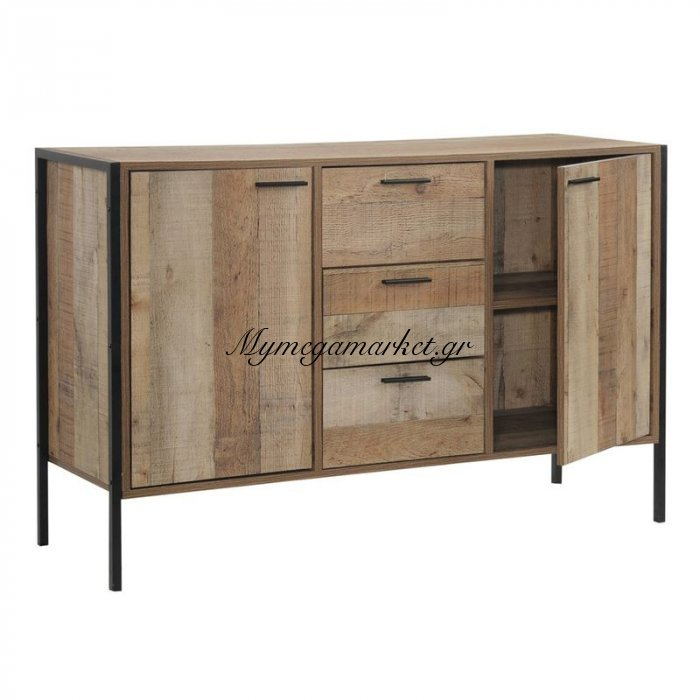 Pallet Μπουφές 124X40X80 Antique Oak | Mymegamarket.gr