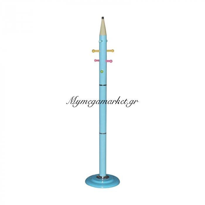Pencil Καλόγερος Μεταλλικός Μπλε   Mymegamarket.gr