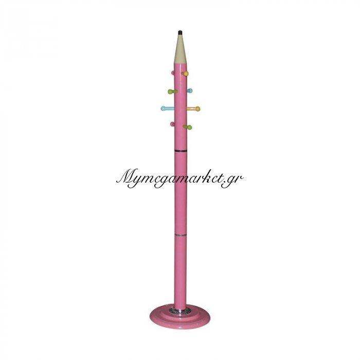 Pencil Καλόγερος Μεταλλικός Ροζ   Mymegamarket.gr