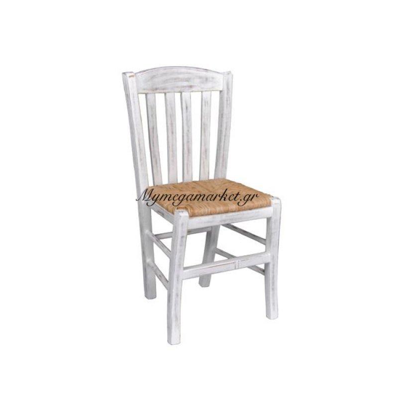 Casa Καρέκλα Ψάθα Εμποτ.decore Στην κατηγορία Καρέκλες εσωτερικού χώρου | Mymegamarket.gr