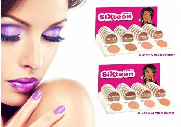 Ρούζ - Sixteen Cosmetics