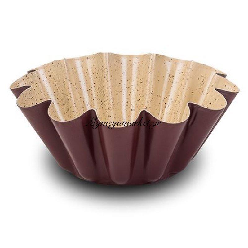 Κεραμική αντικολλητική ατσάλινη φόρμα για κέικ Flower - Nava