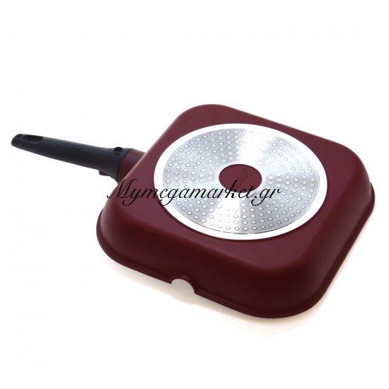Γκριλιέρα αντικολλητική με αποσπώμενο χερούλι 28cm - Nava Στην κατηγορία Τηγάνια - Σουρωτήρια | Mymegamarket.gr