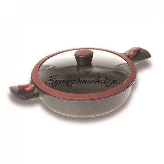 Ημίχυτρα αντικολλητική - Βαθύ τηγάνι με αποσπώμενα χερούλια - No 28 - Nava Στην κατηγορία Τηγάνια - Σουρωτήρια   Mymegamarket.gr