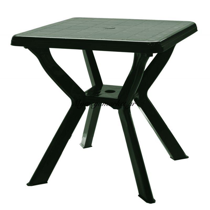 Τραπέζι πλαστικό τετράγωνο κυπαρισσί με χιαστή πόδια 0128 - Nektar Plast