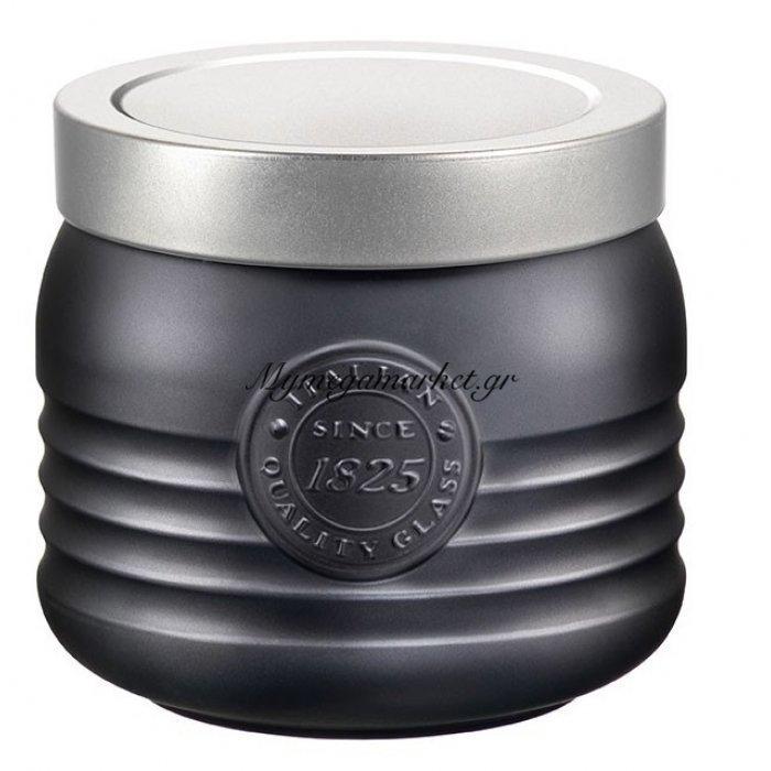 Βάζο γυάλινο Vintage ανθρακί 75 cl - Bormioli | Mymegamarket.gr