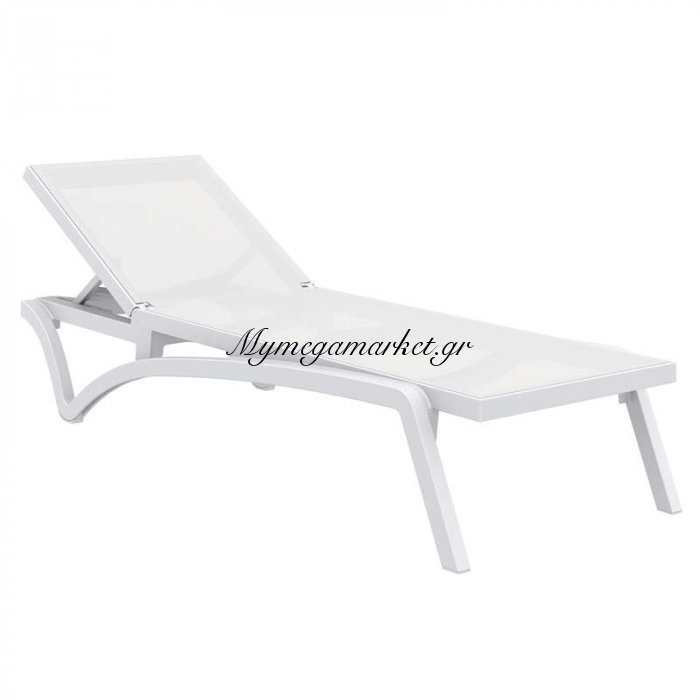 Pacific Ξαπλώστρα White/white Πολ/νιου | Mymegamarket.gr