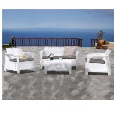 Corfu Λευκό(2Θεσ) Σετ K/D | Mymegamarket.gr